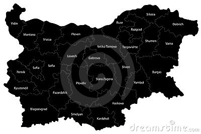 Bulgaria map