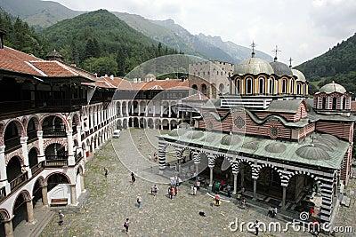 Bulgaria - Rila Monastery Editorial Image