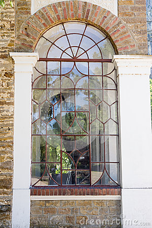 Free Bulgaria. Stained Glass Window Temple Dryanovo Monastery Stock Images - 56113414