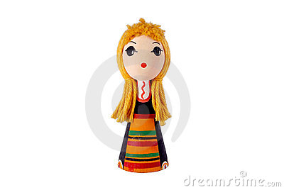 Bulgarian doll in traditional costume