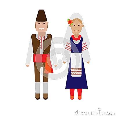Bulgarian national costume