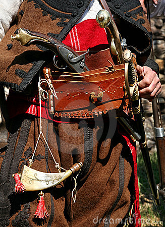 Bulgarian old rebel clothing and outfit