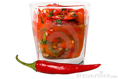 Bulgarian red pepper