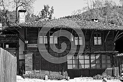 Bulgarian revival house