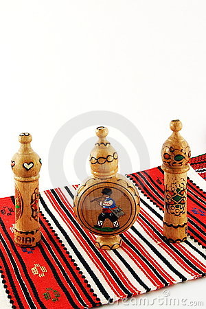Bulgarian Rose Oil Bottles