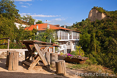 Bulgarian Village Scene