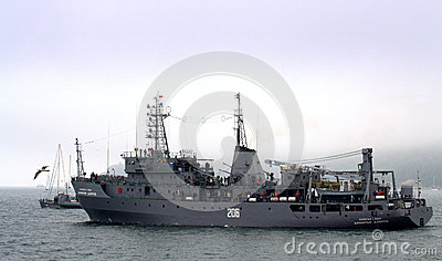 Bulgarian warship Editorial Photography