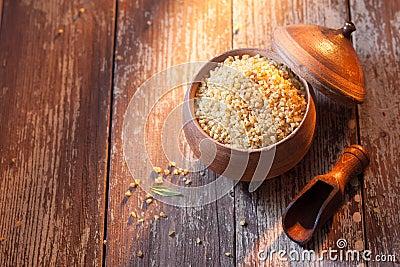 Bulgur or cracked wheat