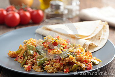 Bulgur Pilaf Royalty Free Stock Photo - Image: 25034365