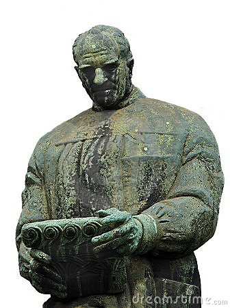Bulic φορέστε το άγαλμα frano