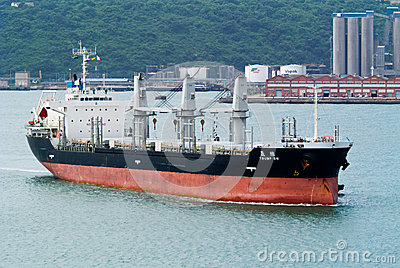 Bulk carrier Trump in Durban Editorial Stock Image