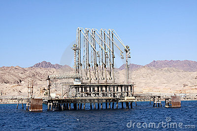 Bulk-oil terminal