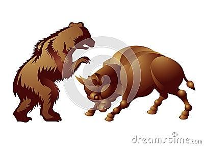 Bull, bear, market trend