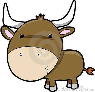 Bull cow cattle Vector