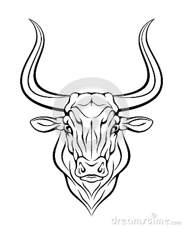 Bull Head Royalty Free Stock Photos  Image 29368028