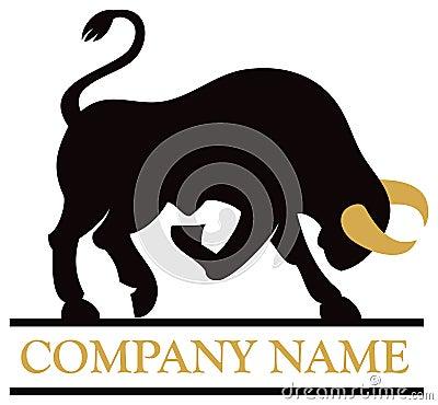 Free Bull Logo Royalty Free Stock Photo - 42009155