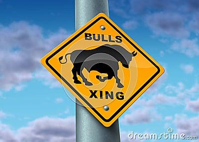 Bull Market Sign