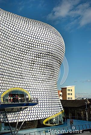 Bull Ring Shopping Center in Birmingham, UK. Editorial Stock Photo