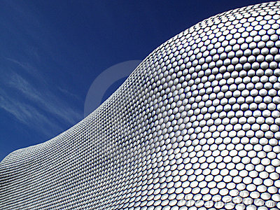 Bull Ring Shopping Centre in Birmingham, Englan