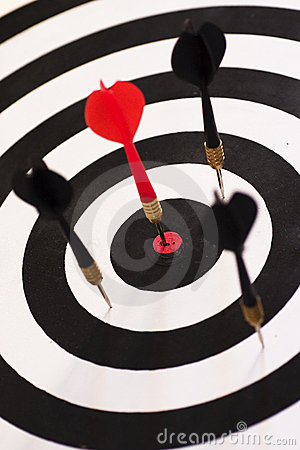Free Bull S Eye (Right On Target) Stock Photo - 221160