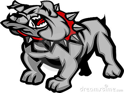 Bulldog Mascot Body Illustration