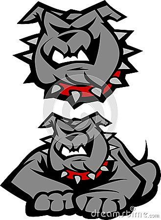 Bulldog Mascot Vector Logo