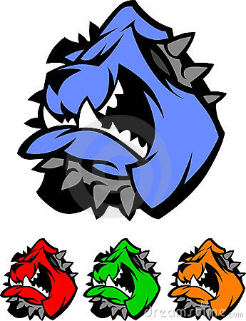 Bulldog Mascot Vector Logos
