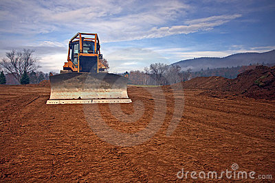 Bulldozer construction