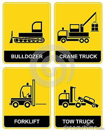 Free Bulldozer, Crane, Tow Truck Stock Image - 13143701