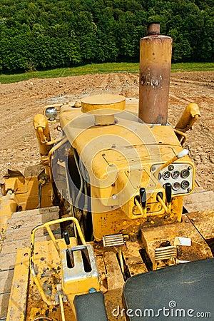 Bulldozer detail