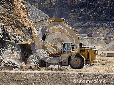 Bulldozer front end loader