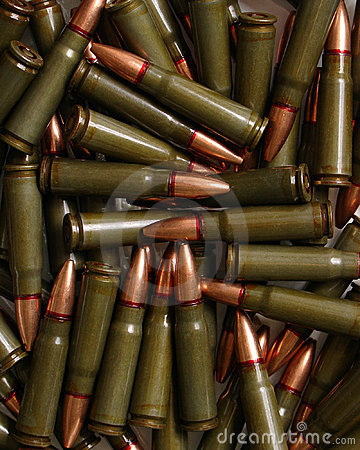 Free Bullet Background Stock Image - 1753981