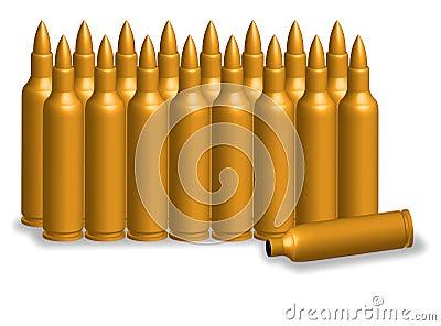 Bullet golden