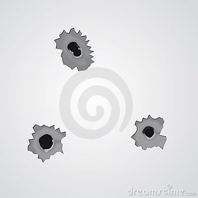 Bullet holes (vector)