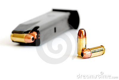 Bullet and Magazine for Gun