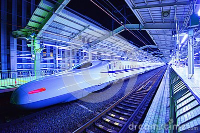 Bullet Train Editorial Image