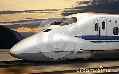 Bullet Train - Shinkansen - Japan