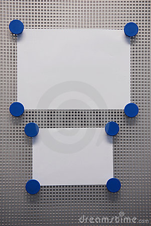 Bulletin Board Stock Image - Image: 2664041