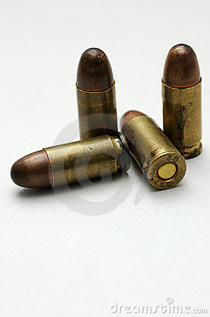 Free Bullets Royalty Free Stock Photos - 9843438