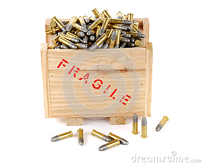 Bullets in a box