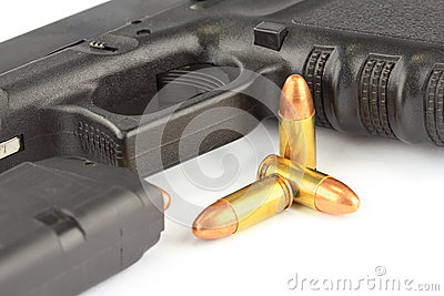 Bullets and Semi-automatic gun