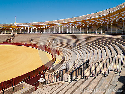 Bullfight arena of Seville, Spain