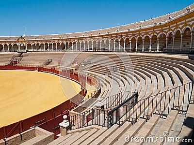 Bullfight arena of Seville, Spain