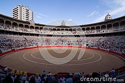 Bullfight Stadium, Barcelona Editorial Photo
