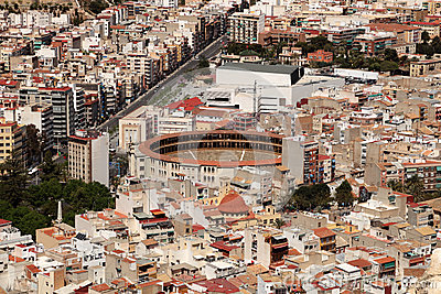 Bullring in Alicante, Spain