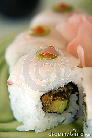 Bulls-eye sushi 2