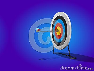 Bullseye 3D Render