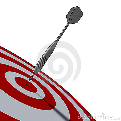 Bullseye - business concept