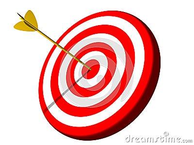 Bullseye Target Success