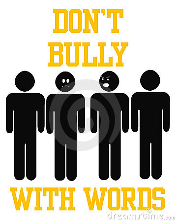 Bully with words